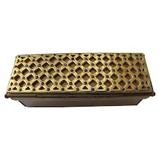 Jeweled Lipstick Compact Case Clean