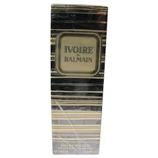 Sealed Boxed Perfume Ivoire de Balmain 3.3 Fl. OZ. Eau de Toilette