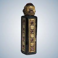 Jeweled Czechoslovakian Purse Perfume 1920's