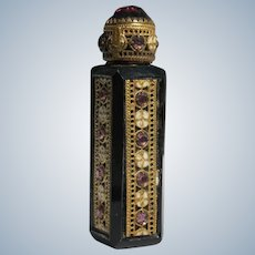 Jeweled Czechoslovakian Purse Perfume 1920's