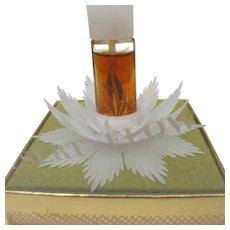 1950's Desert Flower Boxed Perfume Shulton Inc Novelty Perfume