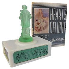 Rare Viard Figural Perfume Bottle in Box Perfect Plus Box