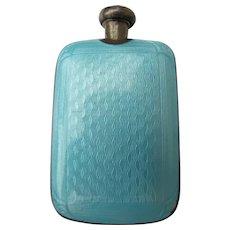 Guillouche  Enamel Perfume Bottle Sterling Silver