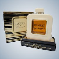 Perfume Ivoire de Balmain Unused in Box 1/2 Ounce Perfume by Pierre Balmain France