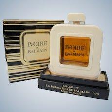 Perfume Ivoire de Balmain Unused in Box 1/2 Ounce Perfume by Pierre Balmain France