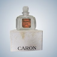 Caron Boxed Perfume Bottle Bellodgia Paris France