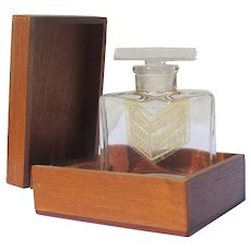 Boxed Perfume Bottle Wood Box Intermetzzo