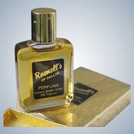 Boxed Perfume Bottle Raenell's of Dallas 1960's Smells Great