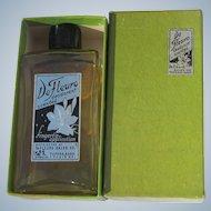Boxed Perfume Bottle De Fleuro Sealed 1938