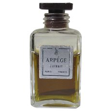 Extract Perfume Arpege Bottle by Lanvin