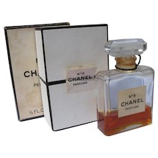 Chanel No 5 Perfume Bottle in 1/2 OZ Box