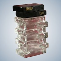 Ciro Perfume Bottle Commercial Largest Size Vintage 1938 Brosse Design