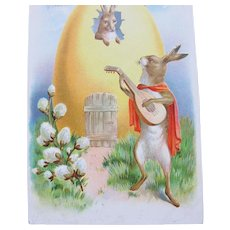 Easter Postcard 1910 Tuck and Sons Perfect Germany