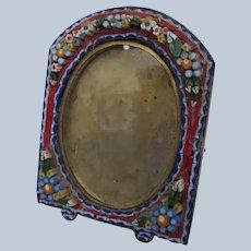 Micro Mosaic Italian Photo Frame Small 1900
