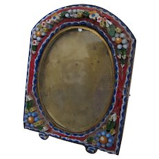 Micro Mosaic Italian Photo Frame Small 1900