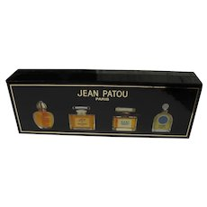Boxed Minis Jean Patou One Missing Great Condition