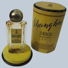 Lentheric Boxed Perfume Bottle Small Deco Era 1930's