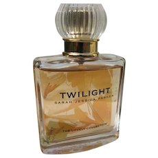 Boxed Perfume 1990's Twilight Sarah Jessica Parker Unused One FL. Oz. Parfum Spray