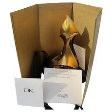 Limited Edition Perfume Bottle Boxed Donna Karen Designed by Sculptor Husband Weiss