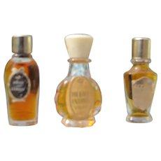 Rare Mini Perfume Bottles