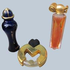 Vintage Mini Perfume Bottles with Perfume