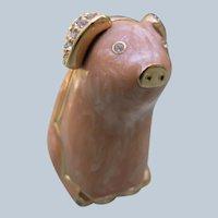 Estee Lauder Enamel Pig Pink with Solid Perfume