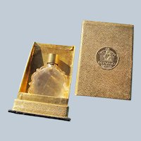 Renaud Box Small Perfume Bottle 1930's France