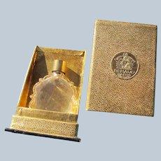 Renaud Box Small Perfume Bottle 1930's France