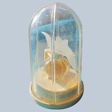 Nina Ricci Mini Perfume in Dome Box Designed by Lalique Vintage