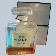 Chanel No 5 Perfume in Box 1970's Little Perfume