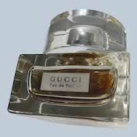 Gucci Boxed Perfume Bottle Factice Excellent Condition