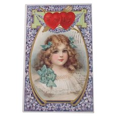 Valentine's Day Post Card by Frances Brundage 1909