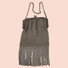 Mesh Handbag Purse 1910-1920 Good Condition
