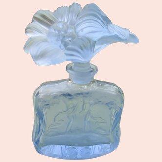 Hoffman Czechoslovakian Perfume Bottle 1920's 1930's