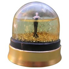 Paul Gaultier Small Perfume Bottle with Figural Inside Dome w/ Perfume 1999