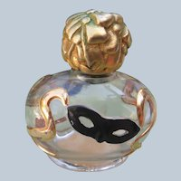 Vintage Commercial Perfume Bottle by Dorothy Gray Savoir Faire 1947