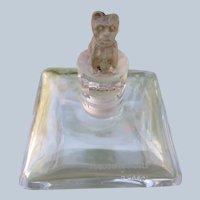 Toujours Fidele Perfume Bottle by D'Orsay Dog Stopper Baccarat