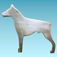 Sterling Silver DOBIE Doberman Pinscher DOG Pin