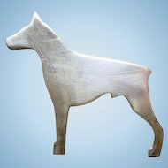 Sterling Silver DOBIE Doberman Pinscher DOG Pin
