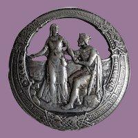 1925 Nils M. Elvik 830 Silver Gyda Harald Norwegian Kings