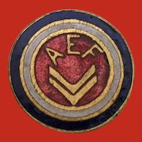 WWI United States AEF Enamel Pin American Expeditionary Forces