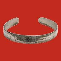 Old Sterling Camp Fire Girls WOHELO Firemaker Bracelet