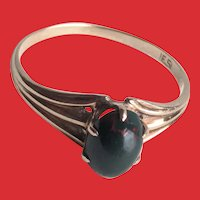 Antique Victorian Rose Gold BLOODSTONE Ring