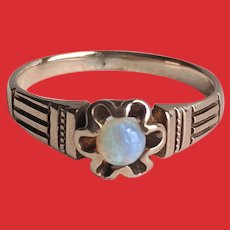 10K ROSE Gold Victorian OPAL Ring Buttercup Mounting