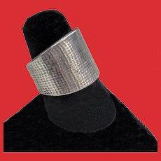 JANE KOPLOWITZ Sterling Modernist Silver Statement Ring 7