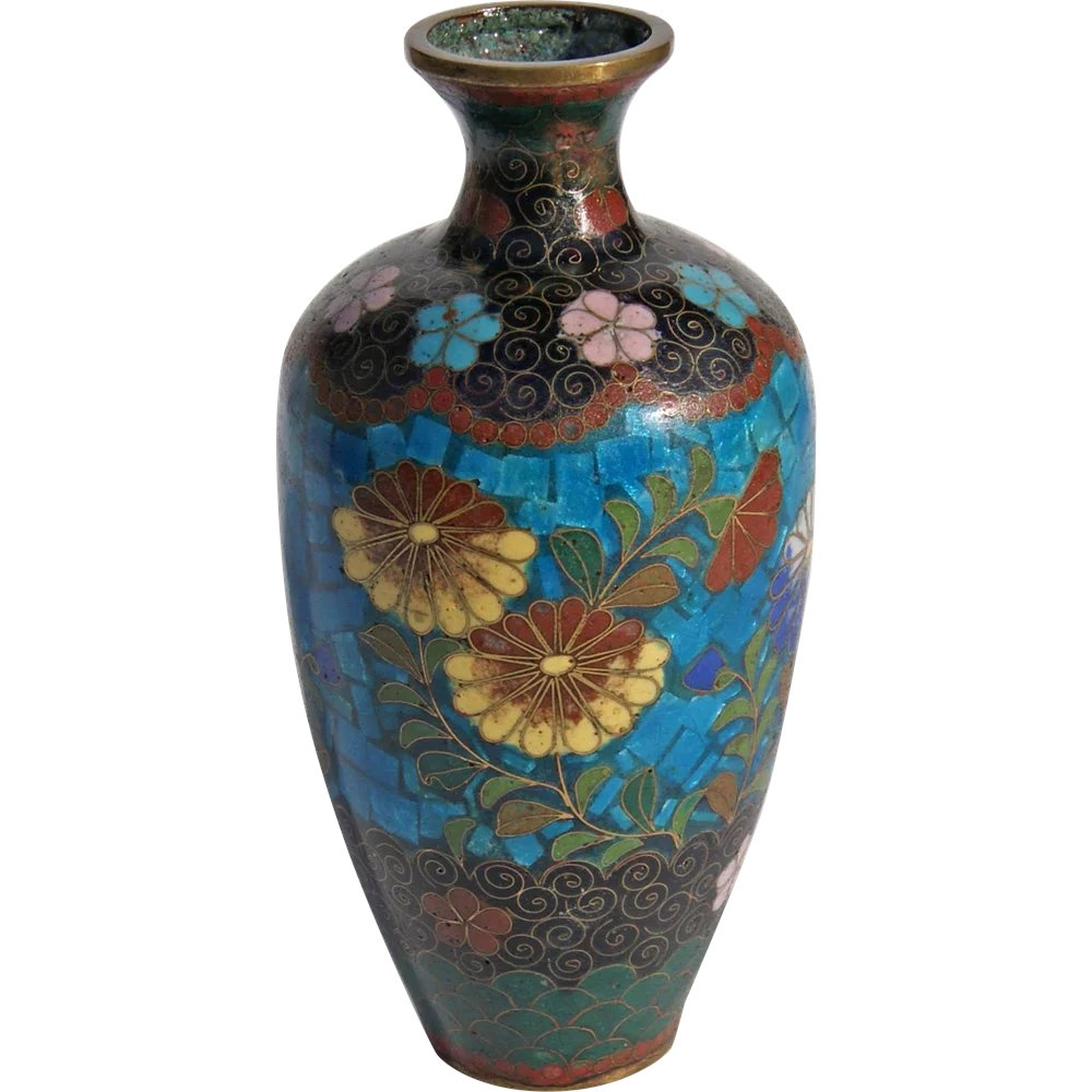 19th century japanese cloisonn vase charles richards for Asian antiques west palm beach