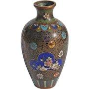 19th Century Japanese Cloisonné Vase
