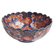 Imari Late 19th Century Japanese Meiji Period Bowl