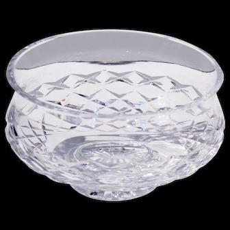 Vintage Waterford Comeragh Pattern Crystal Bowl