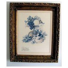 "Lovely Fruit & Botanical Print, ""The Group of Blended Sweets"""